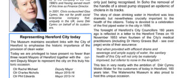 26th JUNE 160th ANNIVERSARY OF HEREFORD WATER SUPPLY