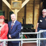 Mayor of Hereford opens new exhibit at the Waterworks