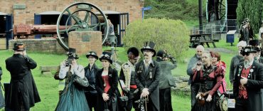 Steampunks in Hereford