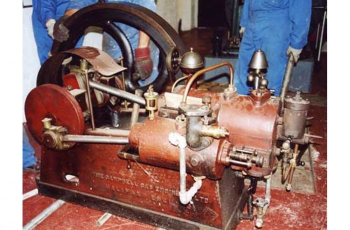 Campbell Hot Tube Gas Engine 1895