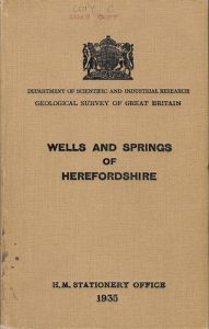 Wells and Springs of Herefordshire