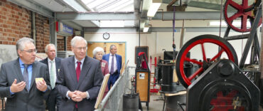 Royal Visitor at Hereford Waterworks Museum